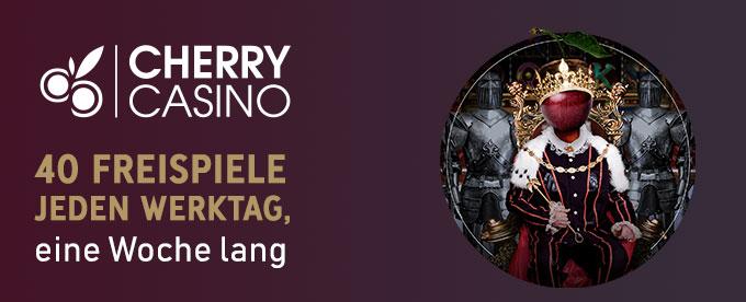 Cherry Casino Slots Freispiele Aktion
