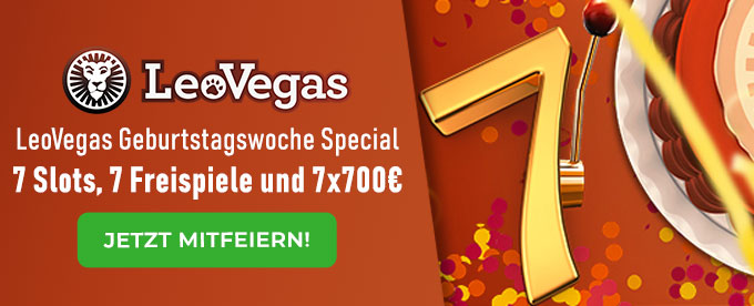 LeoVegas Super7 Promotion