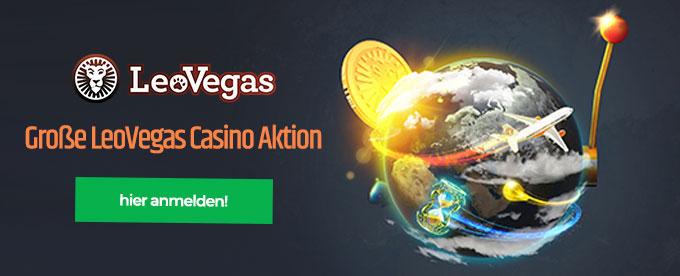 LeoVegas Casino Aktion