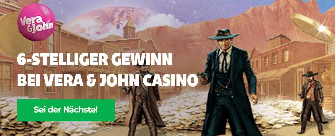 Großer Gewinn bei Gunslinger Slot Vera & John Casino
