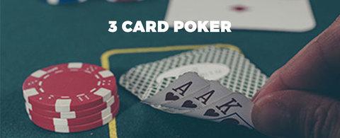 Hier geht's zum 3 Card Poker!