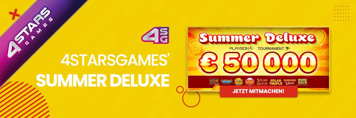 4StarsGames' Summer Deluxe Turnier