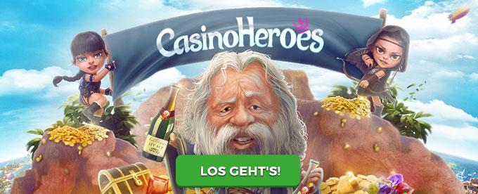 Casino Heroes mit tollem Bonus