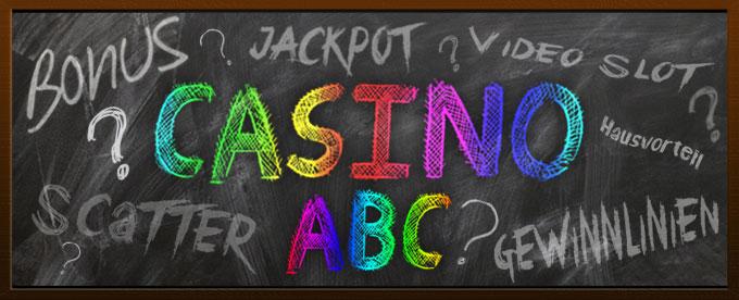 Casino Begriffe leicht erklärt