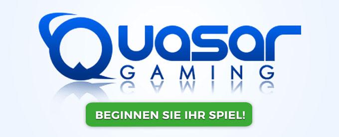 800 Euro Bonus bei Quasar Gaming