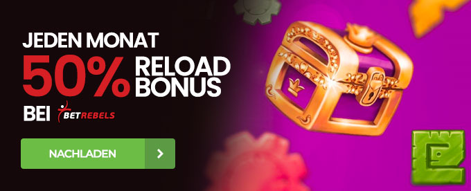 BetRebels Reload Bonus
