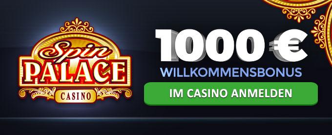 1000 Euro Willkommensbonus