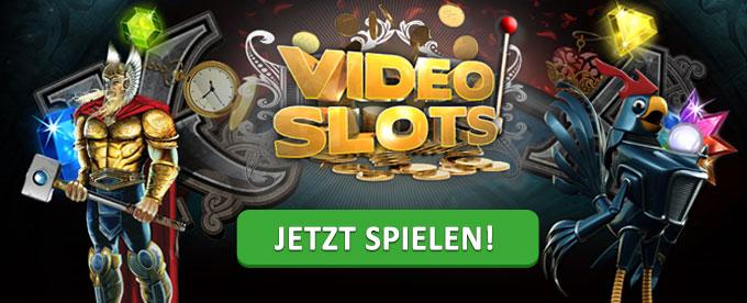 Jetzt Slots im VideoSlots spielen