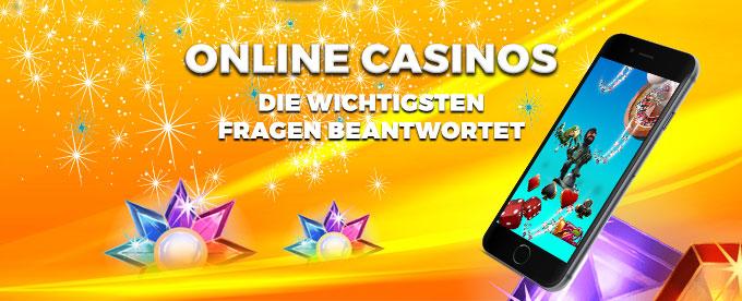FAQs zu Online Casinos