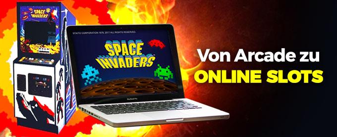 Arcade und Online Slots im Casino