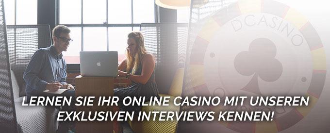 Exklusive Online Casino Interviews