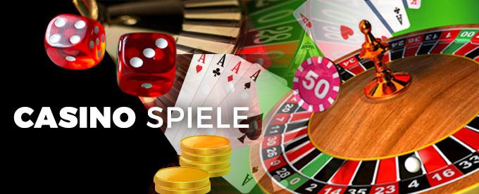 Die verschiedenen Spiele im Casino
