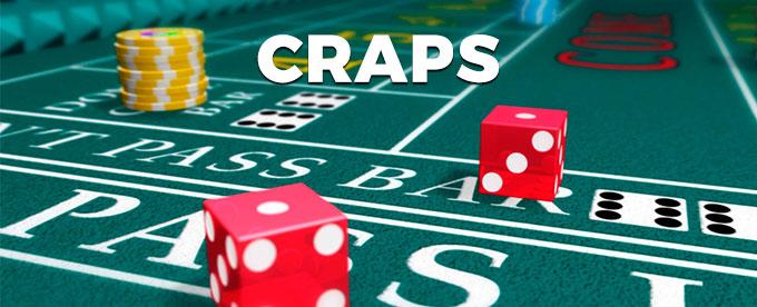 Jetzt Craps spielen