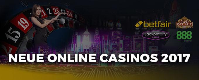 Probieren Sie unsere Online Casinos