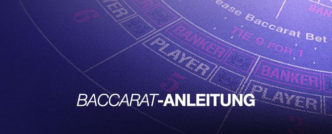 Baccarat-Anleitung fürs Casino