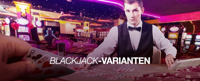 Die Blackjack-Varianten im Online Casino