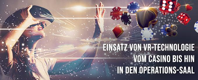 VR-Spiele im Online Casino