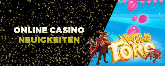 Online Casino Neuigkeiten 17.Juli 2017