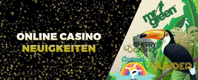 Online Casino Neuigkeiten DCasino