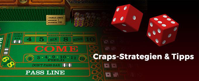 Die besten Craps Strategien und Tipps