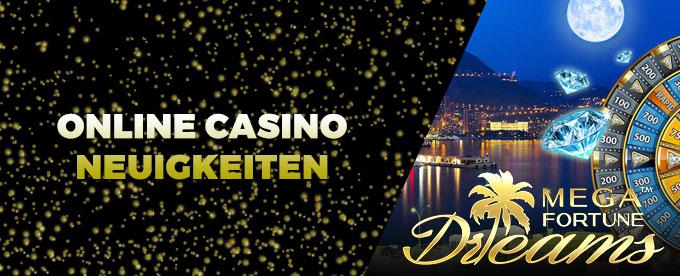 Online Casino Neuigkeiten 28.08.2017