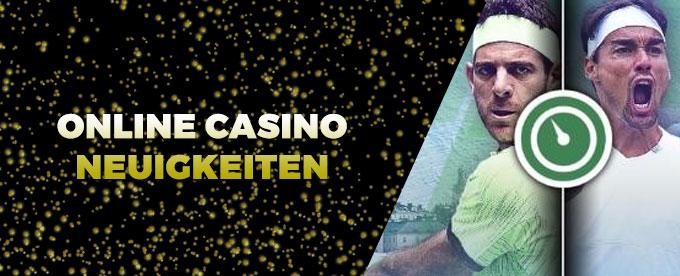Online Casino Neuigkeiten 18. Oktober 2017