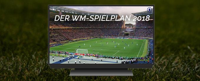 Spielplan der WM 2018