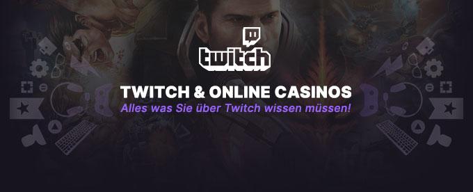 Glücksspiele auf Twitch