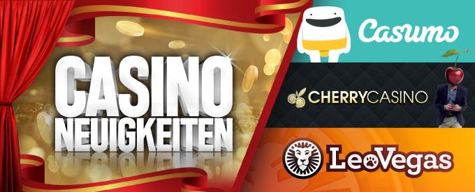Casino Neuigkeiten 08. Oktober 2018