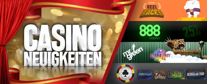 Casino Neuigkeiten 23. Juli 2018