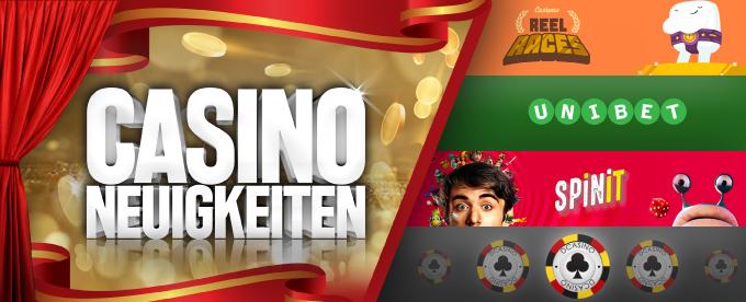 Casino Neuigkeiten 30. Juli 2018