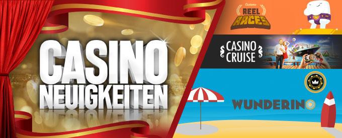 Casino News 06. August 2018