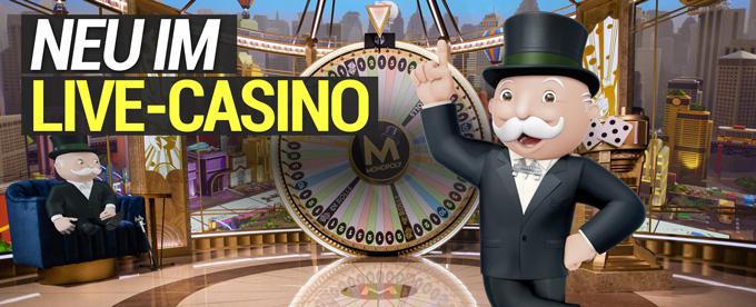 Monopoly Live neu im Online Casino