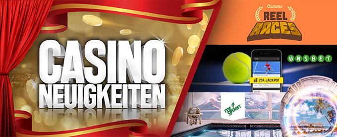 Casino News 03. September 2018