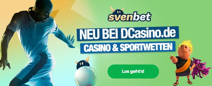 Casino und Sportwetten im Svenbet