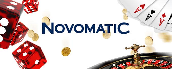 Hier geht's zu den Novomatic Spielen