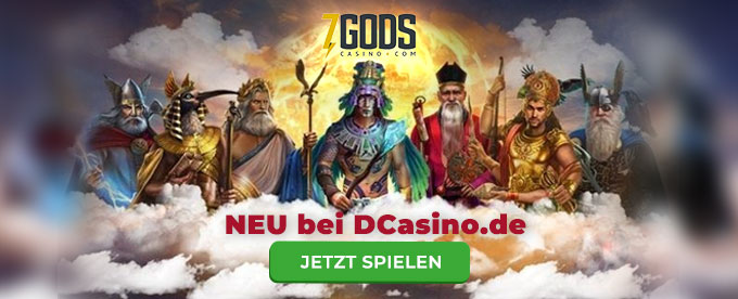 Neues Online Casino bei DCasino