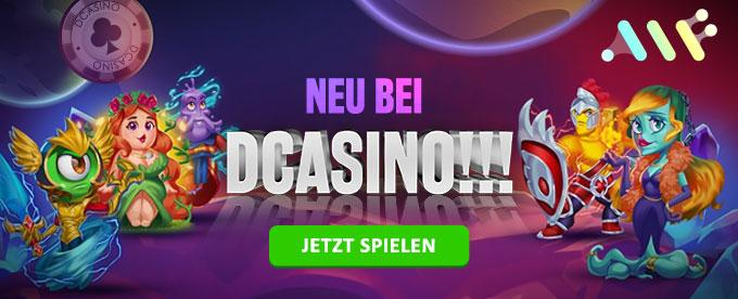 Neues Casino bei DCasino