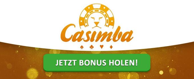 Riesiger Bonus im Casimba Casino