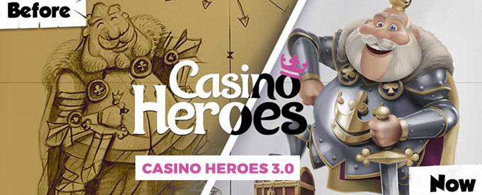Jetzt das neue Casino Heroes 3.0 testen