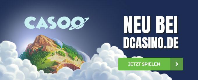 Casoo neu bei DCasino.de