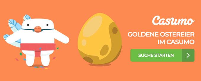 Goldene Ostereier suchen