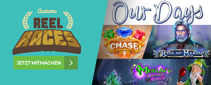 Reel Races & Neue Spiele
