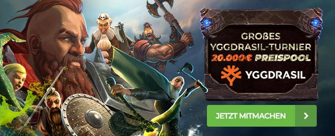 Yggdrasil Slot-Turnier