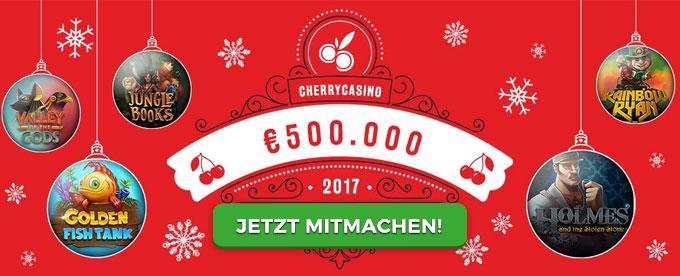 500.000€ zu Weihnachten im Cherry Casino