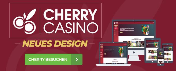 Neues Design bei Cherry Casino