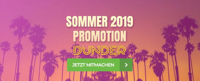 Sommer Aktion im Dunder