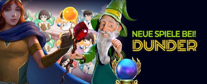 Neue Spiele im Dunder