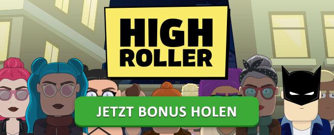 Willkommensbonus im Highroller Casino holen