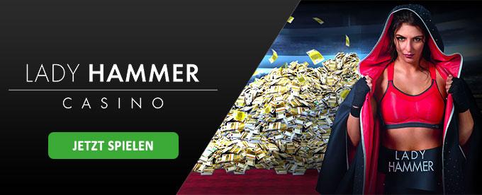 Bonus im Lady Hammer Casino